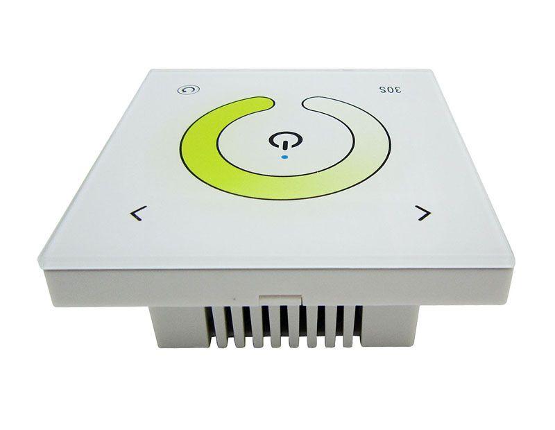 2 Channels Touch Panel Color Temperature Led Controller Dimmer White DC12-24V TM07 For Led Strip Light DIY 25pcs/lot