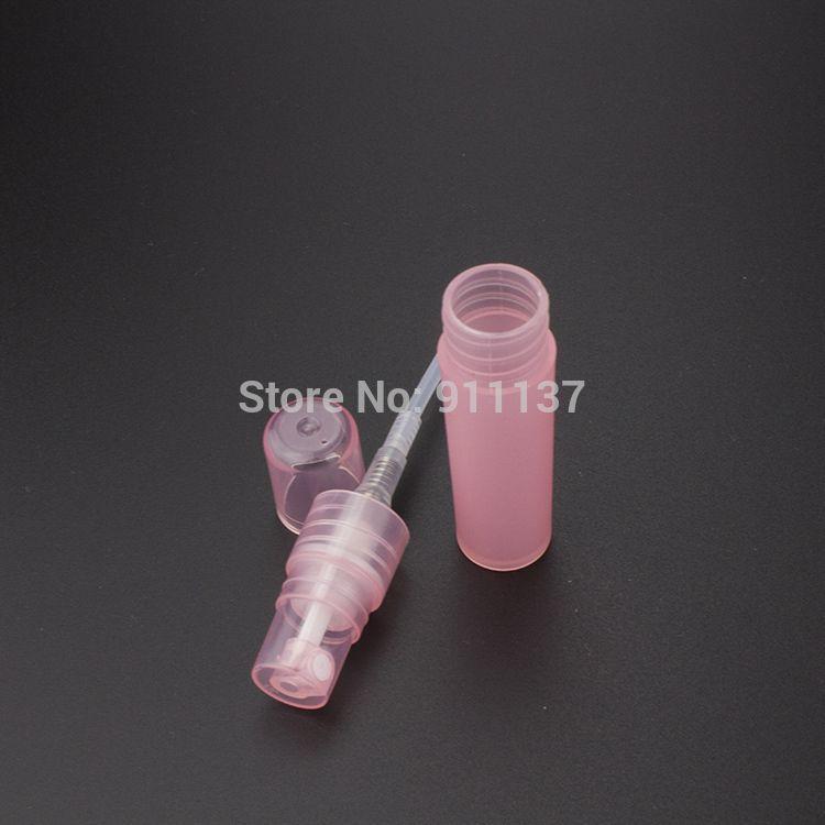 пластиковые 5 мл образец духи спрей бутылки , розовый plstic 5 мл малый пустые бутылки дух , ПБ-ПП 5 мл мини образец бутылки брызга