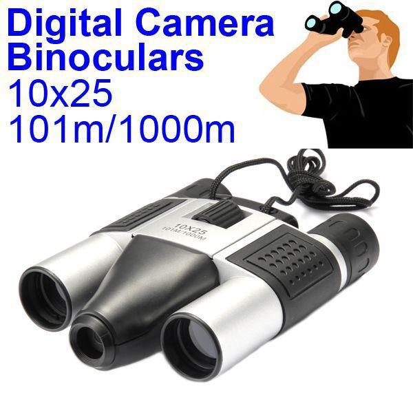 2015 New DT08 101M-1000M Digital Camera Binoculars Telescope 10x25 Video Recording Telescope 1.3MP COMS Sensor