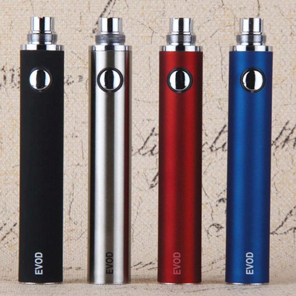 eGo evod 1300 mah bateria de alta qualidade cigarros eletrônicos evod tanques tan vape mods para mt3 ce4 ce5 vaporizador atomizador vs visão spinner 2
