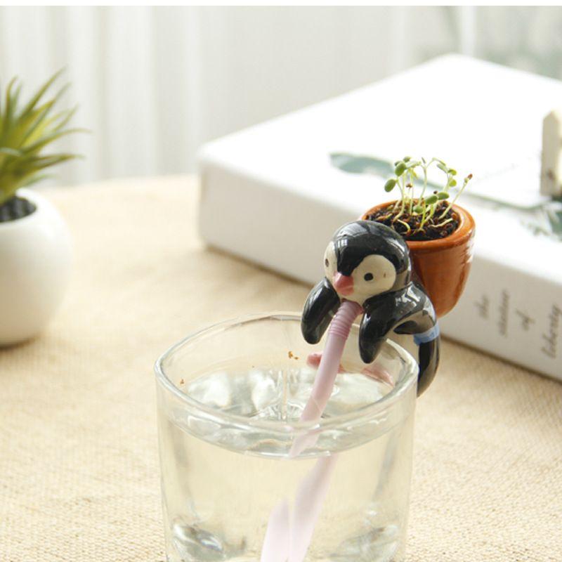 Toptan yeni susuz susuz küçük dikim ofis masaüstü DIY yaratıcı tembel aerobik sulama saksı