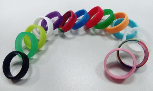 Silicona de banda vape más barata para cig atomist mecánico mod rda subtank no logo vape anillo personalizado