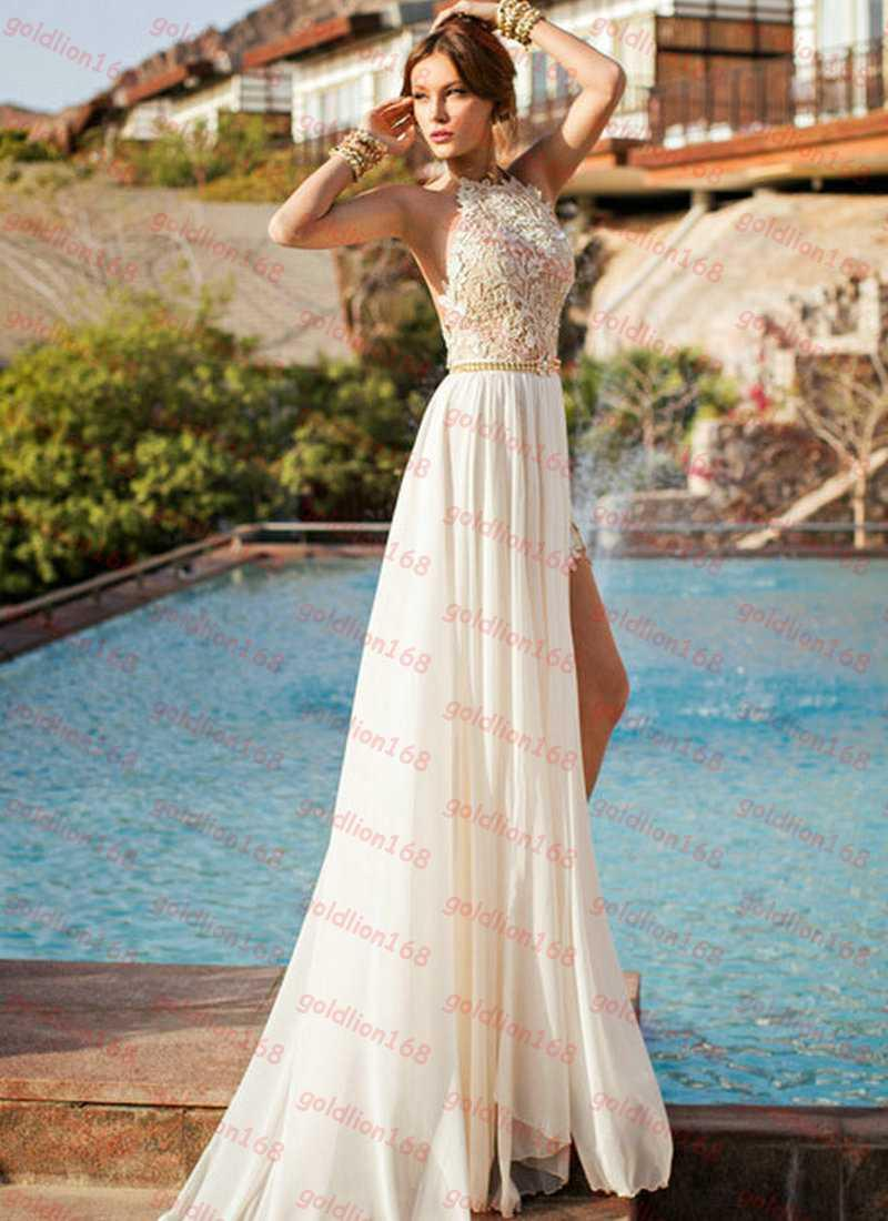 High Neckline Backless Prom Dresses – fashion dresses