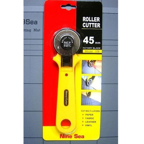 Useful 45mm Rotary Circular Cutter Cut Steel Blade Patchwork Vinyl Craft Free shipping, dandys
