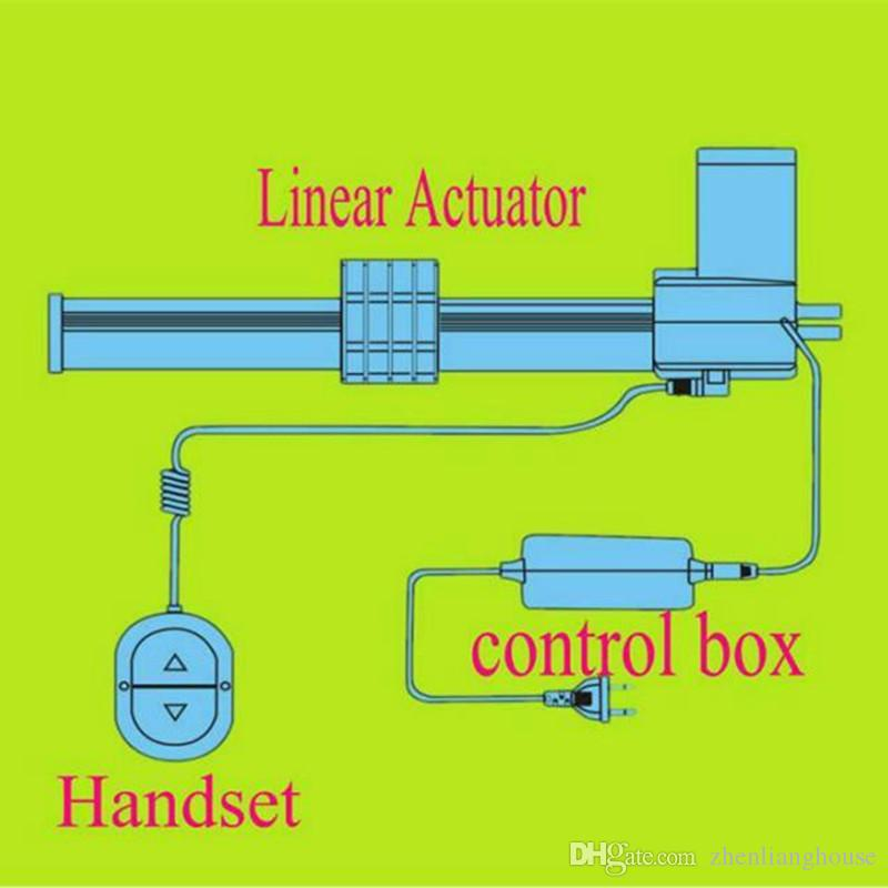 only compatiable with the brand limosss or deltadriver oking linear  actuator motor which has two terminals: one is din shape five holes female  terminal and