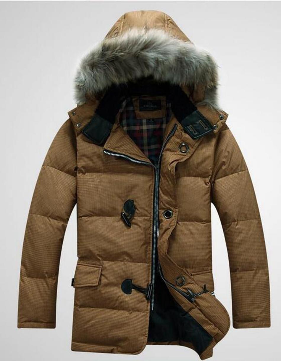Новый мужской на открытом воздухе более аутентичные воспитать в себе мораль в теплом теплом с капюшоном длинные вниз куртка пальто. L-3xl