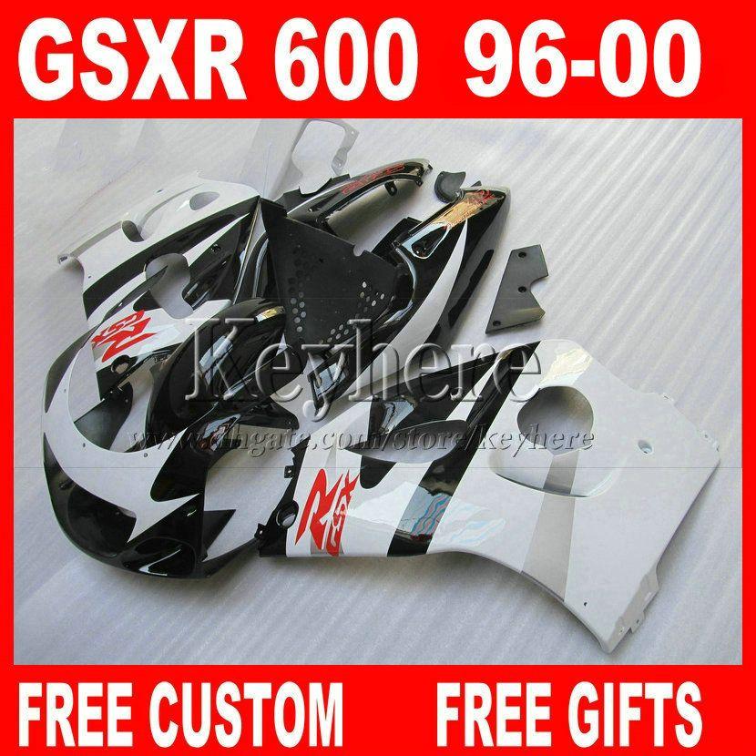 På rea ! FAIRING KIT FÖR SUZUKI SRAD 96 97 98 99 00 GSXR600 GSXR750 Plastmässor Parts GSXR 600 750 1996 1997 1998 1999 2000 5H1W