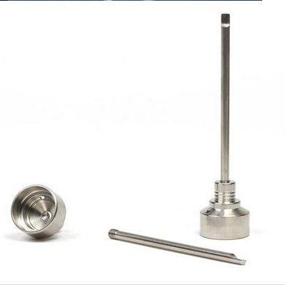 G2 Titanium Carb Cap Tool 14mm 18.8mm 19mm Titanium Dab Tool with Carb Cap fits Most Domeless Nail Domeless TItanium Nail