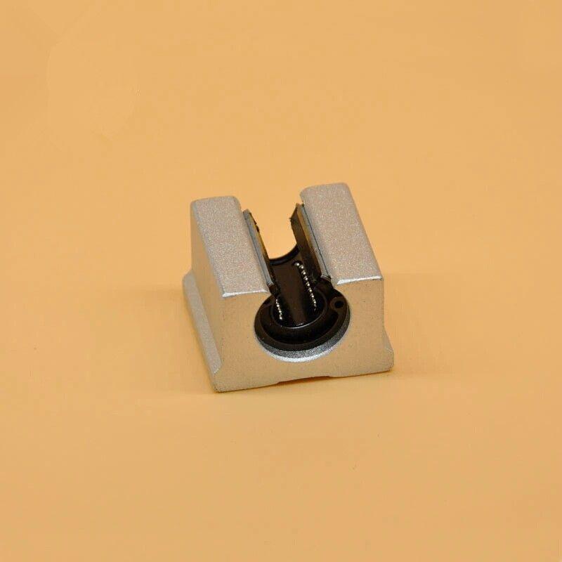4 шт./лот SBR20UU 20 мм открытый линейный блок для ЧПУ маршрутизатор 3D принтер sme20uu линейное движение шарикоподшипник с ЧПУ части DIY kit