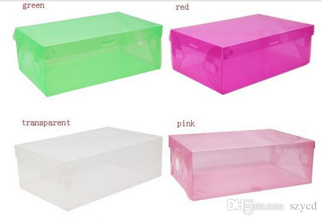 Folding Transparent Shoe Boxes Clear Plastic PP Storage Box Packaging Boxes For Shoes For Women ...  sc 1 st  DHgate.com & 2018 Folding Transparent Shoe Boxes Clear Plastic Pp Storage Box ...