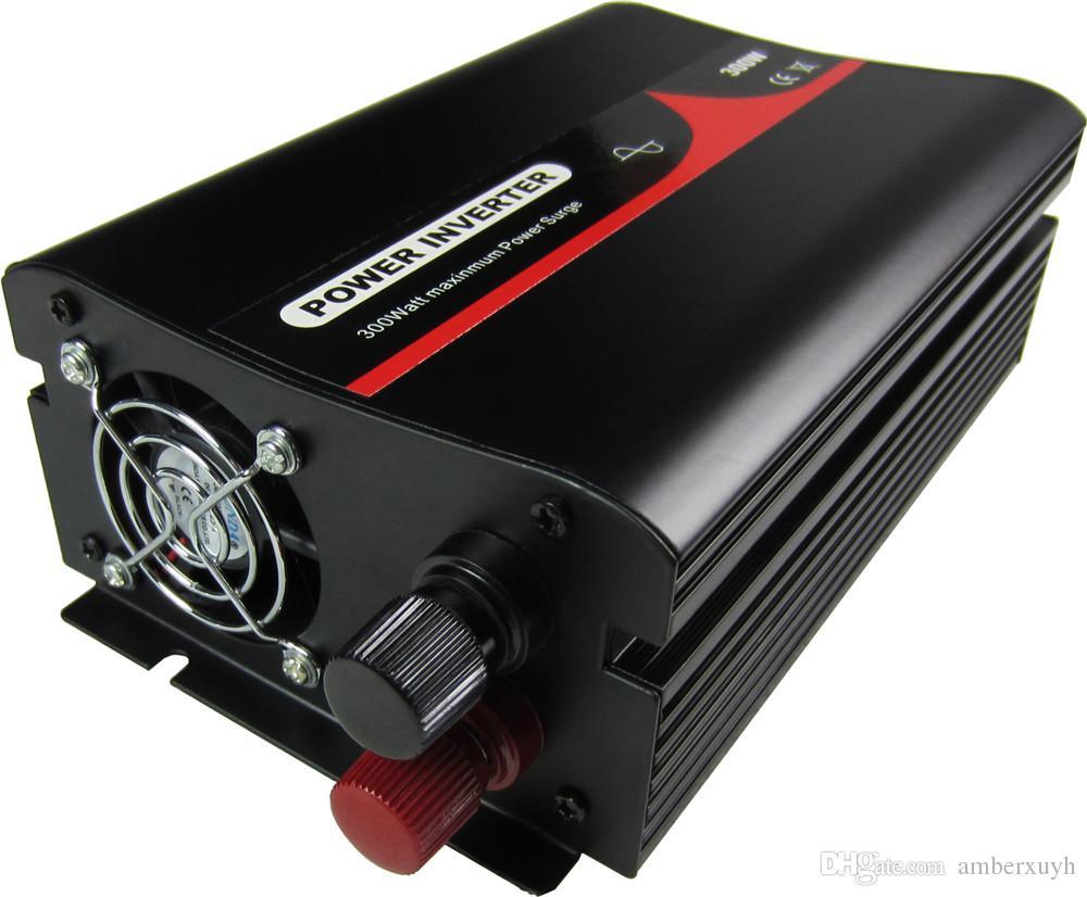 12VDC a 120VAC 60HZ EUA Plug 300w Pure Sine Wave Inversor