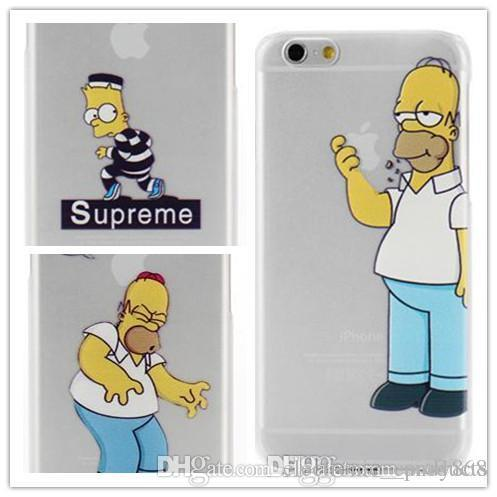 Funda Para Iphone 6 De Homer Simpson 99 Pesos