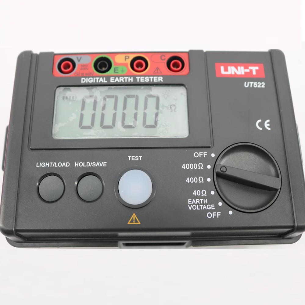UT522 Testeur Num/érique de R/ésistance de Terre pour le Test de R/ésistance dIsolement