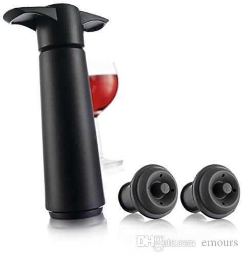 النبيذ فراغ التوقف النبيذ الحافظ فراغ مضخة النبيذ مع مجموعة هدية سدادات 2 بالجملة
