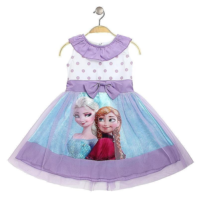 satin al sicak moda cocuk elsa anna bebek kiz pamuklu elbise yaz polka dots abiye elbiseler tul kiz cocuk giyim tl500 39 tr dhgate com
