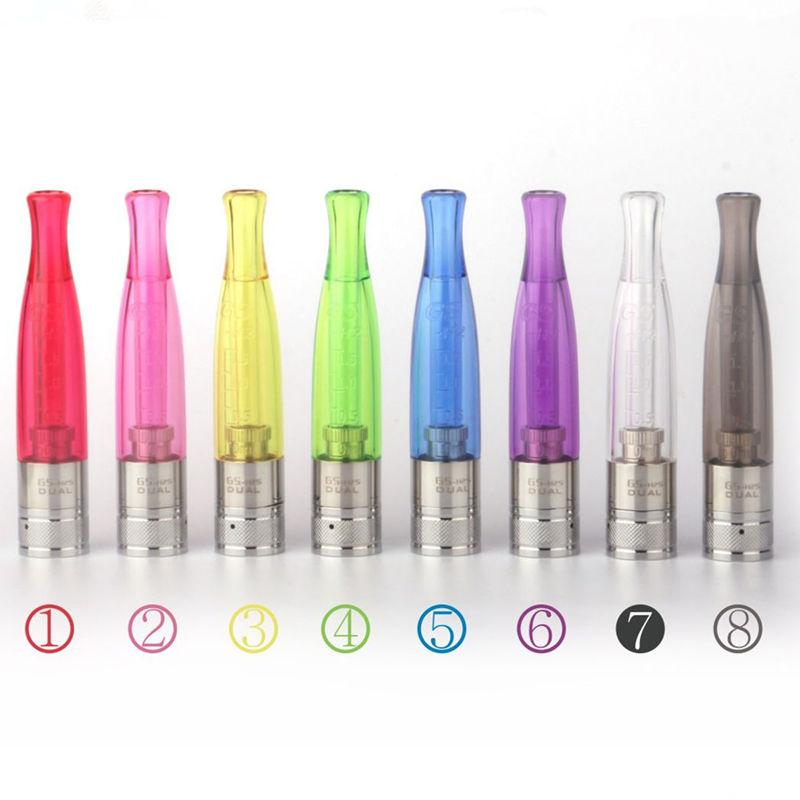 GS H2S Clearomizer Vaporizers Ecig Updated Ego H2 Atomizer Tanks Dual Coils 510 Thread gsh2 1.5ml Fit Vision Ego II 2200mah Battery