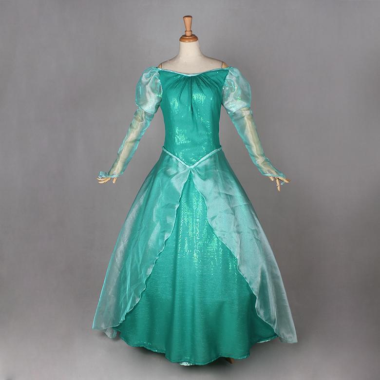 Compre La Sirenita Ariel Princesa Vestido De Lujo De Dormir Tamaño Belleza Profesional Cosplay Para Adultos A 18422 Del Story2008 Dhgatecom