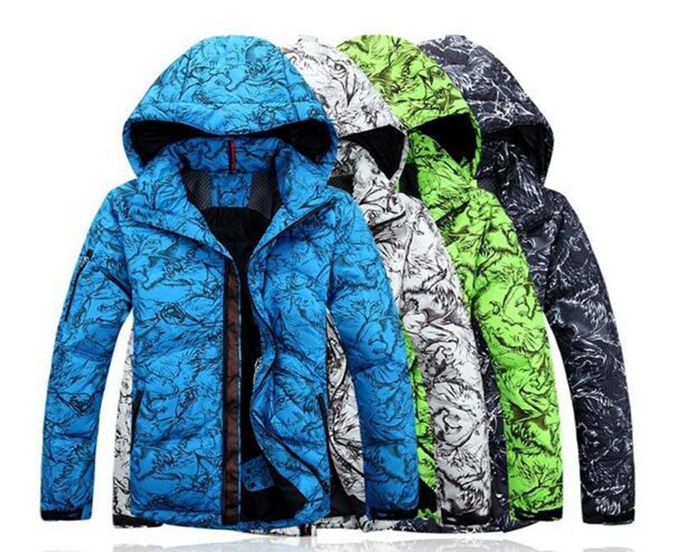 Les hommes avec la mode extérieure chaude et épaisse d'hiver nouveau loisir authentique cultiver la moralité même cap manteau veste. S - 2xl
