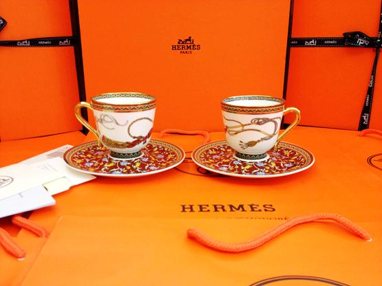 Western gold porcelain coffee cups horse tea cup and saucer set for ...