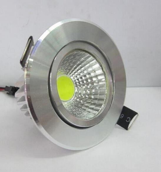 2015 heißen Verkauf 15w dimmbare COB LED Einbauleuchte LED-Einbau Licht der Decke unten AC85-265V