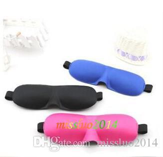 50 pz di Alta Qualità Viaggi Riposo Sonno 3D Spugna Eye Ombra Dormire Maschere per Gli Occhi Copertura Nap Rest Patch Blinder per l'assistenza sanitaria
