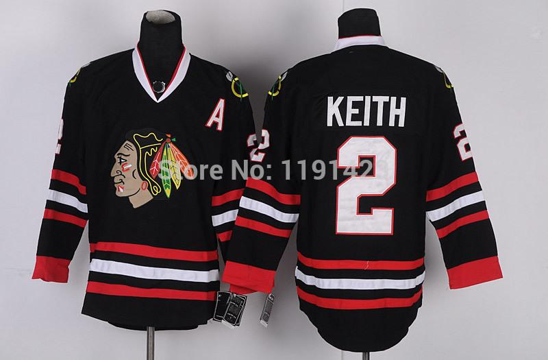 15-Cheap Chicago Blackhawks Hockey Jerseys Duncan Keith Jersey #2 Home Red Road White Third Black Green Stitched Jerseys A Patch_1.jpg