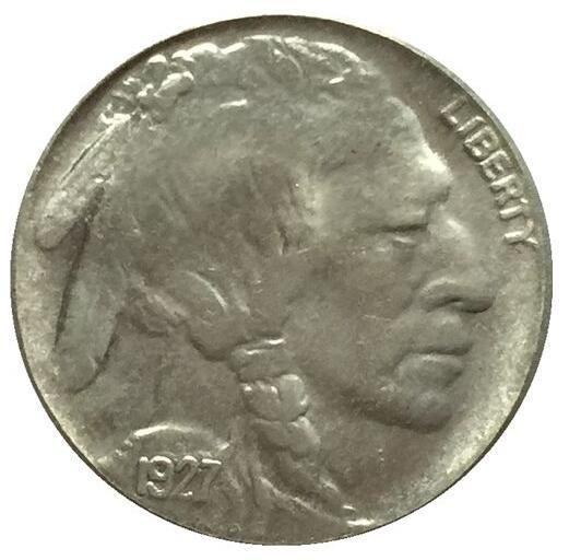 1927-D 버팔로 닉 코인 복사본 무료 배송