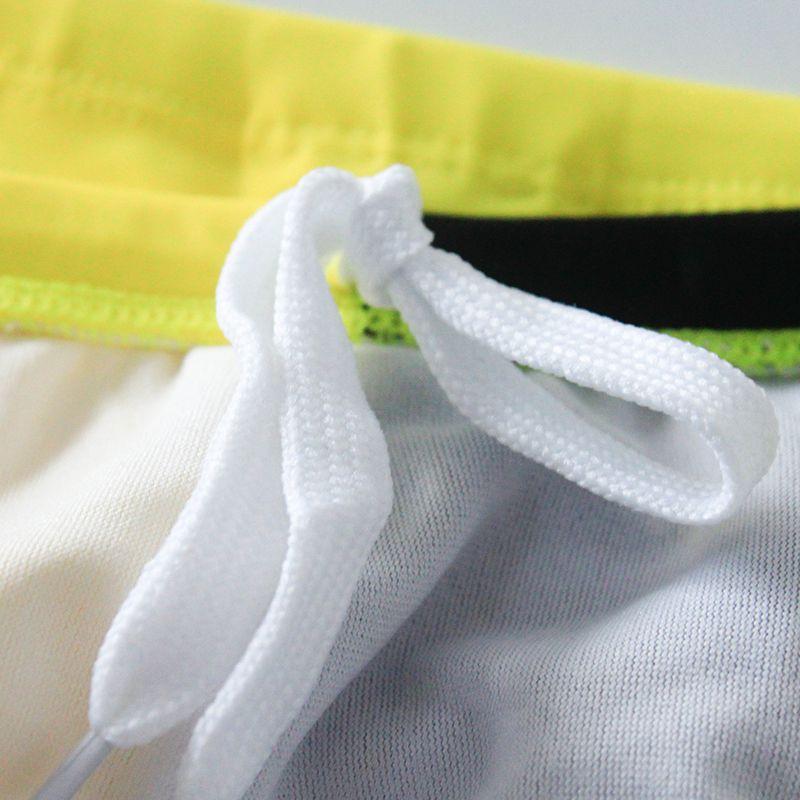 الجملة الرجال الصيف سراويل السباحة العلامة التجارية مثير الرجال ملابس السباحة الترقيع تصميم السباحة موجز حزام الوقاية ذكر بيكيني ملابس الرجال هدايا