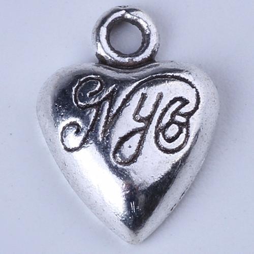Nouveau mode or rétro amour lettrage pendentif fabrication bricolage bijoux pendentif fit collier ou bracelets charme 1200pcs / lot 1395c