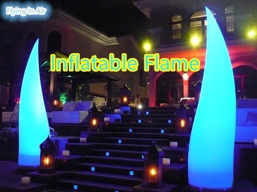 Пламя красивейшего декоративного освещения 3-5m Раздувное для партии, клуба и случая