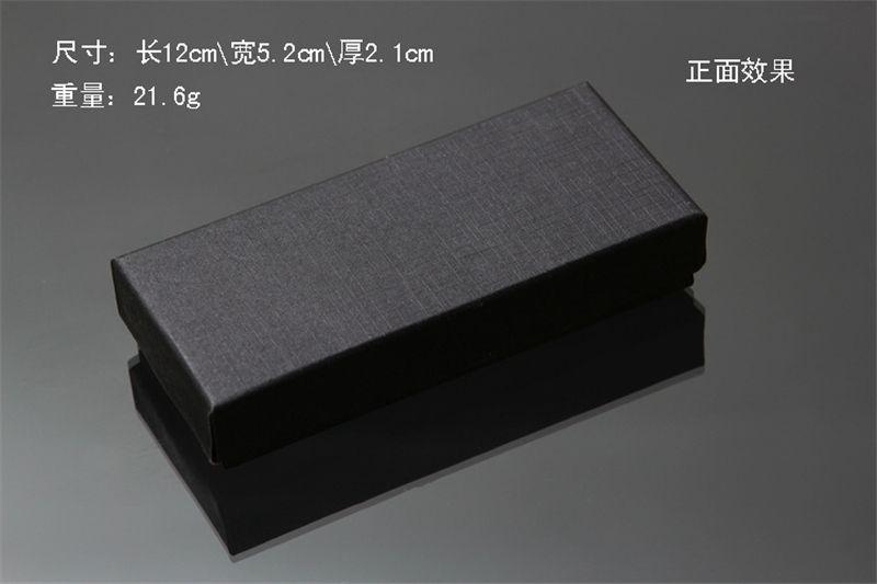 도매 - 실용 매트 블랙 선물 상자 쥬얼리 키 버클 포장 거품 스폰지 패드 박스와 작은 골 판지 보석 상자 판매