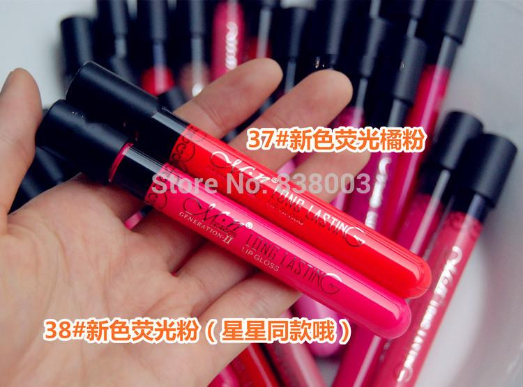 5pcs waterproof liquid makeup lip stick Lip Pencil Matte Lipstick Lip Gloss Pen colour 37# and 38# (1).jpg