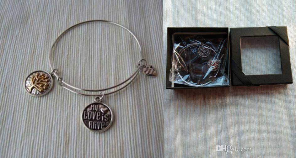 New Gift Women - Personalized - Handwriting Jewelry - Adjustable Bangle--Pendant bracelet-1125