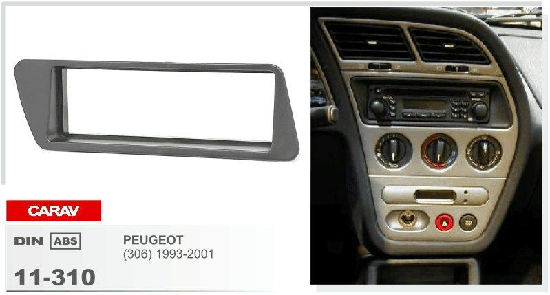 PEAVGEOT için CARAV 11-310 En Kaliteli Radyo Fasya (306) 1993-2001 Stereo Ön Pano Dash CD Trim Kurulum Kiti