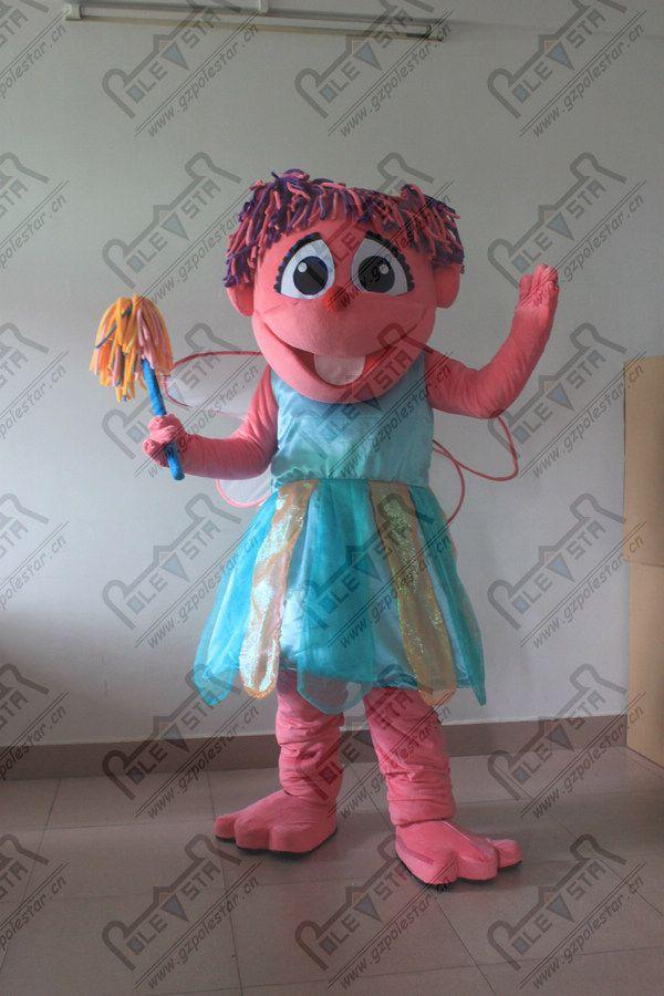 ручной сделать волосы мультфильм фея талисман костюмы новая магия девушка горячие продажи Эбби костюмы Полярная звезда талисман костюмы