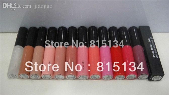 ~ Envio Atacado-Free (100 unidades) novo Maquiagem Lip Gloss 4.8g
