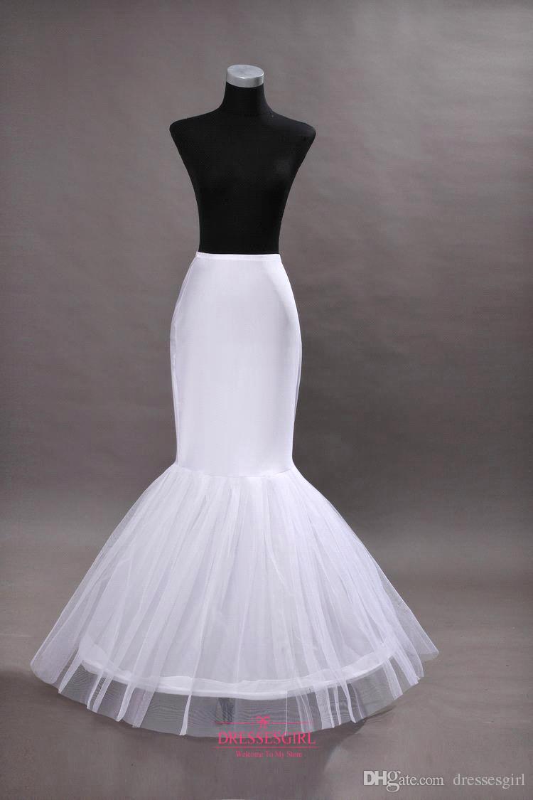 在庫あり:マーメイドのウェディングウエディングのドレスのためのMermaid Petticoatsブライダルクリノリンを在庫します。
