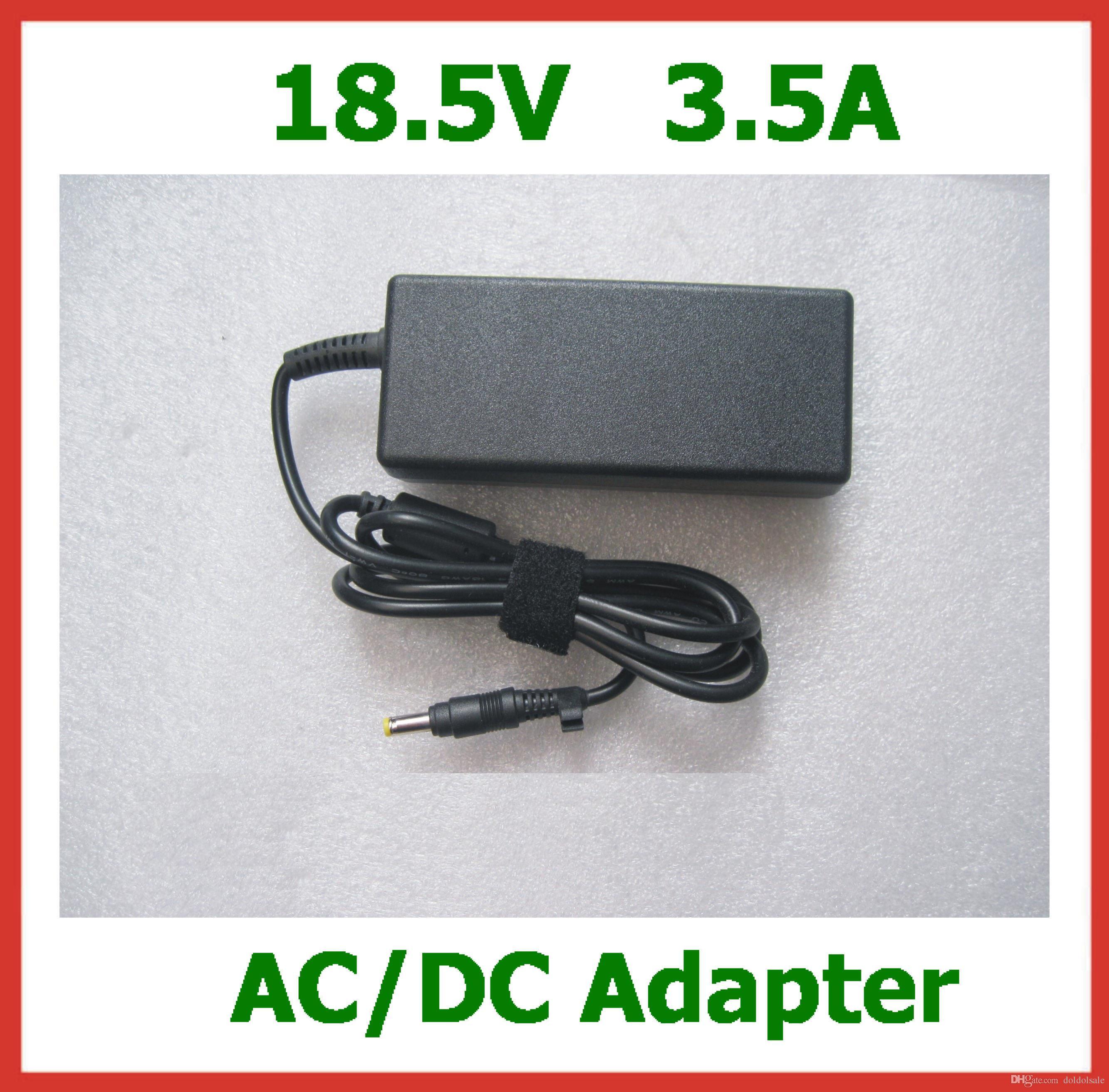 18.5V 3.5A 4.8 * 1.7mm / 4.8x1.7mm 65Wの交換:HP Compaq 6720 550 510 520 530 540 550 620 625 G3000ラップトップAC充電器電源アダプタ
