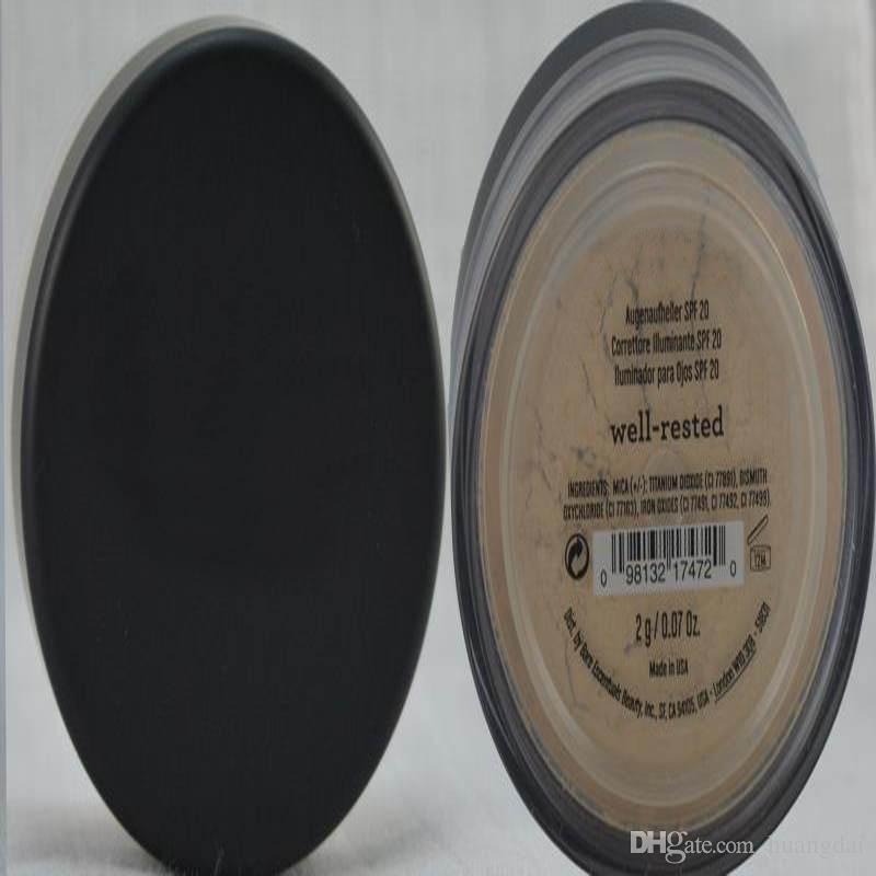 EN LA ACCIÓN 46 colores SPF15 / SPF25 maquillaje desnudo Minerals en polvo original Fundación SHIMMER / MATTE Fundación polvo de maquillaje DHL envío gratis