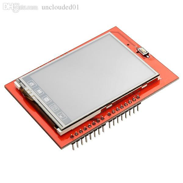 Modulo display LCD TFT LCD da 2,4 pollici a schermo touch screen per Arduino UNO