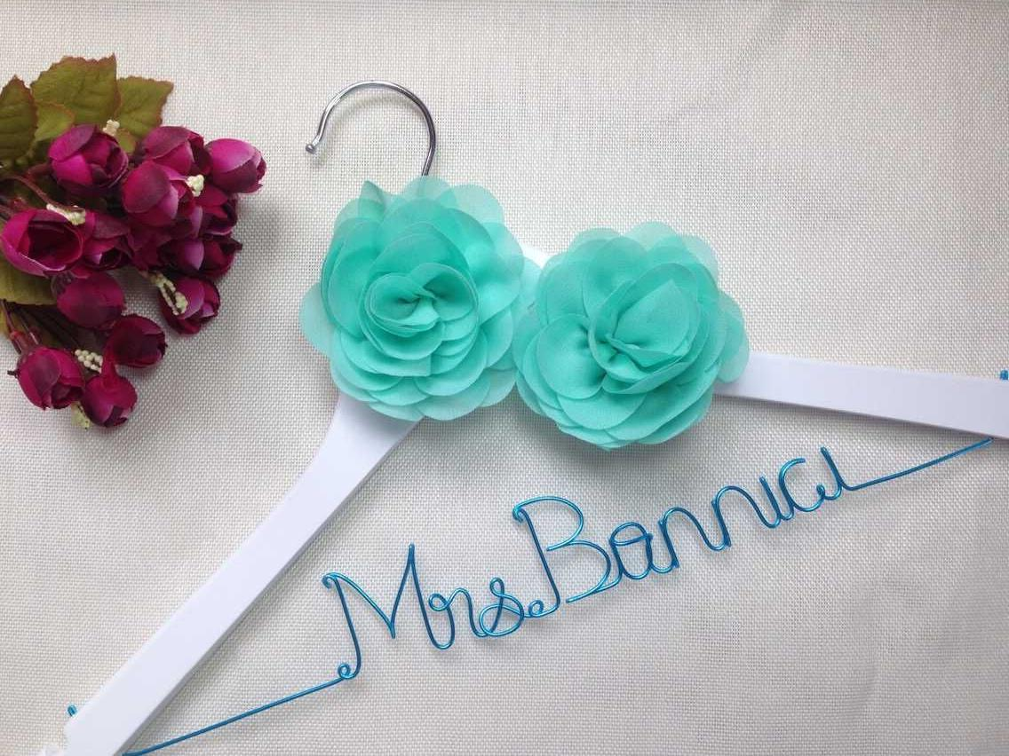 Personalized Wedding Hanger, Brides Hanger,Name Hangers,Bridesmaid ...