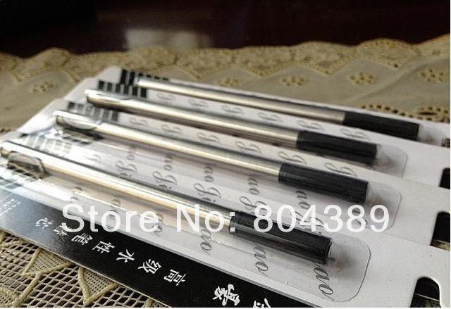 10pcs JINHAO Rollerball Pen refills 0.5mm Black