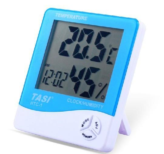 Best Tasi Htc 1 Digital Large Lcd Display Hygrometer Thermometer