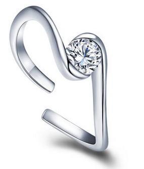 более формы crystral Р женское кольцо размер (ут-Джей)