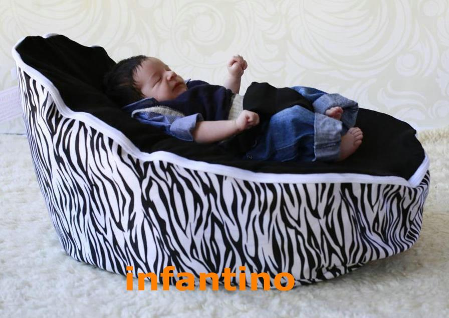 ZEBRA BLACK SEAT Colorfull Baby Bean Bagsoft Beanbag Seat And Chair Washable New Arrived Beanbags 2018 From Infantino 14