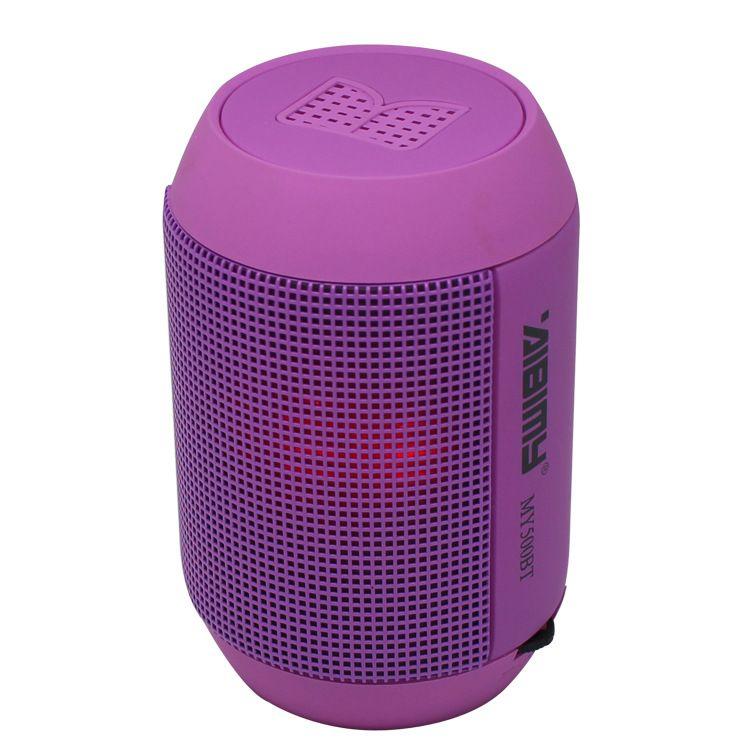 مجانا dhl coloful MY500BT مضخم الصوت اللاسلكية بلوتوث المتكلم مصغرة ايفي المتكلم مع ملون الصمام الخفيفة دعم usb tf بطاقة hadfree