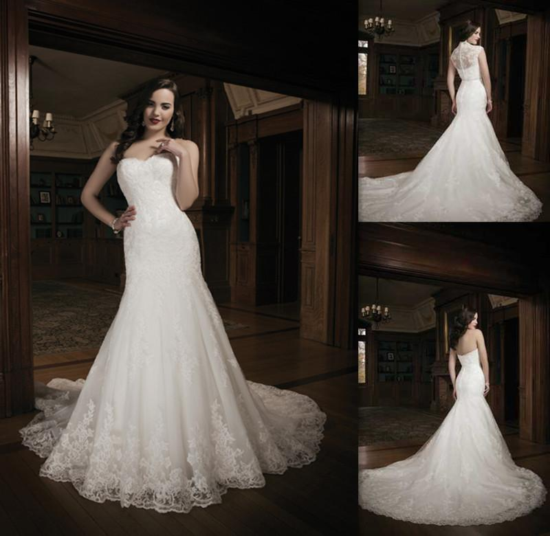 Victorian Sheath Wedding Dresses