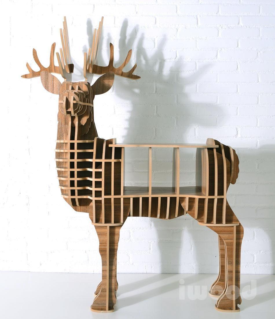 Deer Puzzle Table,Animal Multi Purpose Furniture,Mdf Animal ...