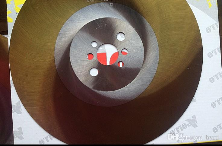 APOL 10-Zoll-Kreissägeblatt 275 * 1.0 | 1.2 | 1,6 * 32mm HSS-DM05 Schneidwerkzeuge Hochgeschwindigkeitsstahlsägeblätter Schneiden Edelstahl Golden