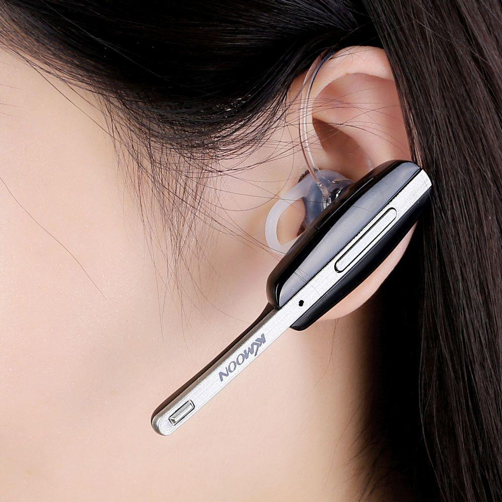 KKMOON Wireless Bluetooth V3.0 Headset Headphone Hands-Free Stereo Design с микрофоном для iPhone Samsung Smart Phone Tablet